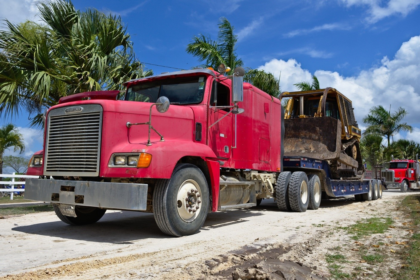 selecting a heavy equipment carrier
