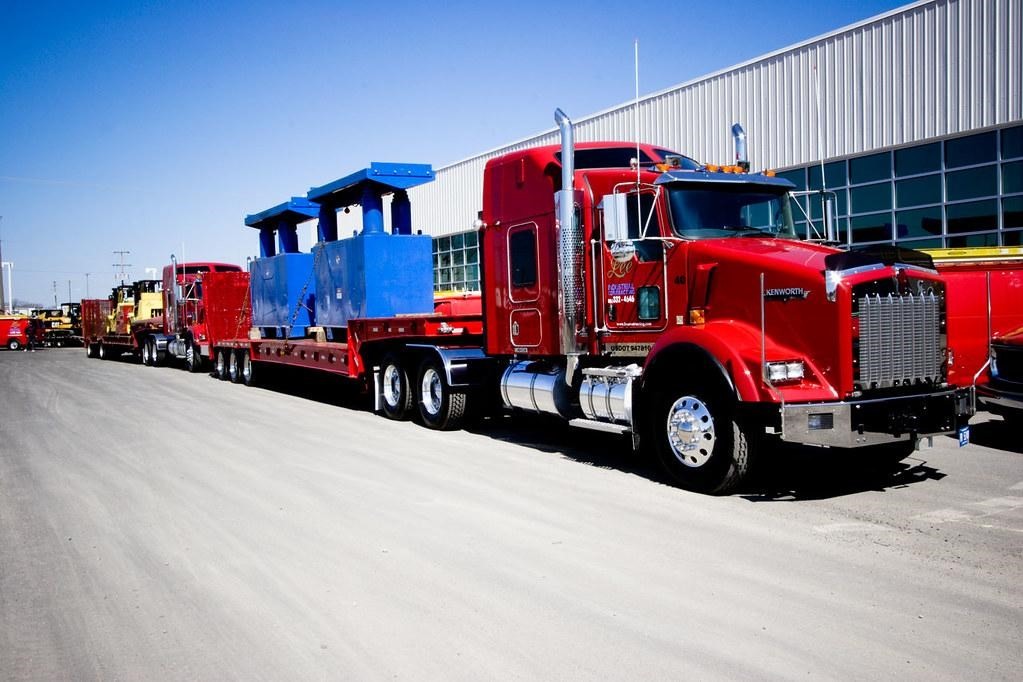 Some states require over dimensional shipping services to use pilot vehicles.